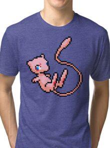 Pixel Mew Tri-blend T-Shirt