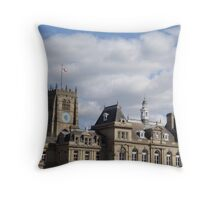 Bradford Cathedral Tower Throw Pillow