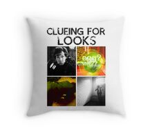 Clueing For Looks Throw Pillow