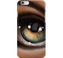 Hazel Eye Pop Surrealism Illustration iPhone Case/Skin