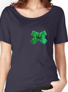 Ribbon Women's Relaxed Fit T-Shirt