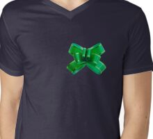 Ribbon Mens V-Neck T-Shirt