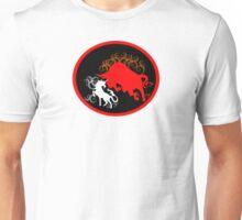 Unicorn vs the Red Bull Unisex T-Shirt