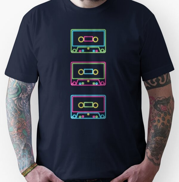 Three Cassettes Unisex T-Shirt