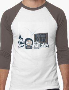 North Park Men's Baseball ¾ T-Shirt