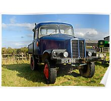1946 Unipower Forester truck Poster