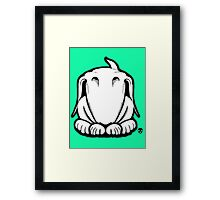 Guilty English Bull Terrier  Framed Print