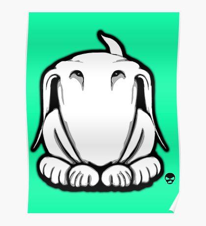 Guilty English Bull Terrier  Poster
