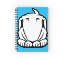 Guilty English Bull Terrier  Spiral Notebook