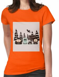 North Park Womens Fitted T-Shirt