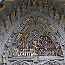 Bern Cathedral ornate portal by Elena Skvortsova