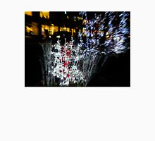 Happy Christmas Burst - Abstract Christmas Lights Series Unisex T-Shirt