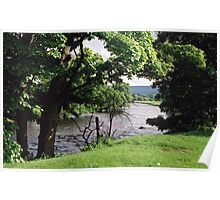 River Wharfe at Bolton Abbey. Poster