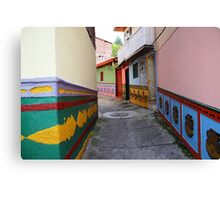 Color in the Street Canvas Print