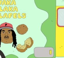 Waka Flocka Falafel's  Sticker