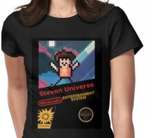 Steven Universe - NES Cover Womens Fitted T-Shirt