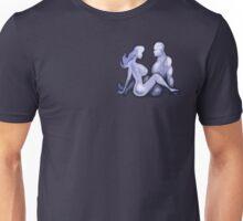 Mudflap Babe & Dude Meet Pocket Tee Unisex T-Shirt