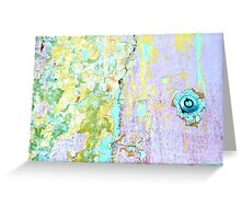 Sherbet Abstract...Key Required Greeting Card