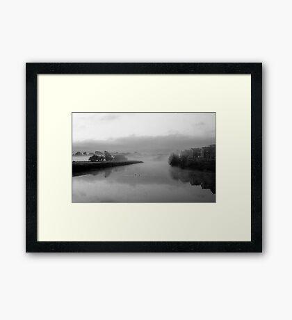 Mist on the Ribble Framed Print