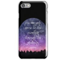 The Morning Through The Shadows iPhone Case/Skin