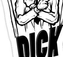 Dick in a box Sticker