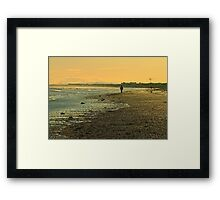 Mornington walk Framed Print