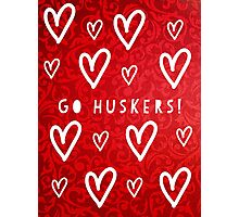 Huskers Photographic Print