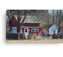 North Fork Farmhouse Canvas Print