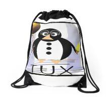 TUX:  CARNIVAL Drawstring Bag