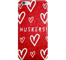 Huskers iPhone Case/Skin