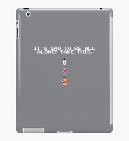 Take This - Companion Cube iPad Case/Skin