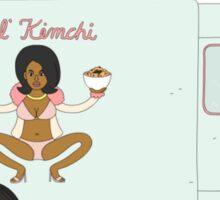Lil Kim chi Food Truck Sticker