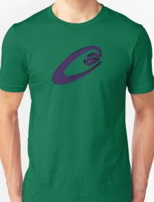 Purple twirl Unisex T-Shirt