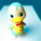 Rubber Duckie Strikes a Pose by YoPedro