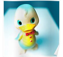 Rubber Duckie Strikes a Pose Poster