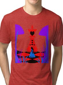 Alice in Wonderland Tri-blend T-Shirt