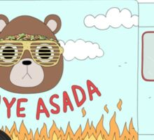 Kanye West Asada - Food Truck Sticker