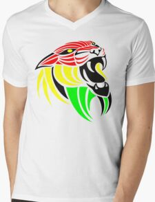 Lion Reggae Colors Cool T Shirts Prints and Stickers T-Shirt