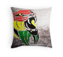 Lion Reggae Colors Cool T Shirts Prints and Stickers Throw Pillow
