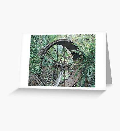 """wheel of Time"" Greeting Card"