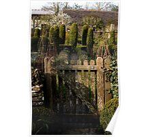 Potager Gate - Barnsley House Poster