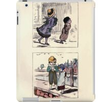 The Little Folks Painting book by George Weatherly and Kate Greenaway 0061 iPad Case/Skin