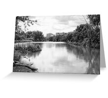 A River Runs Through It Greeting Card