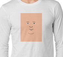 Bobby Hill Face Long Sleeve T-Shirt