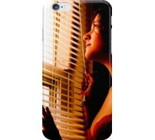 A Glance out the Window iPhone Case/Skin