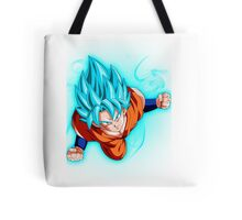 Goku super saiyan god super saiyan Tote Bag