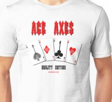 Ace Axes - Quality Guitars Unisex T-Shirt