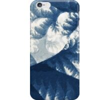 Growth 1 Blue iPhone Case/Skin