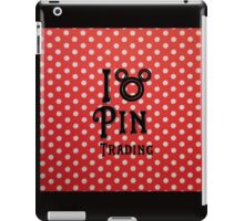 I Love Pin Trading iPad Case/Skin