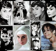 Tribute to Audrey  by ©The Creative  Minds